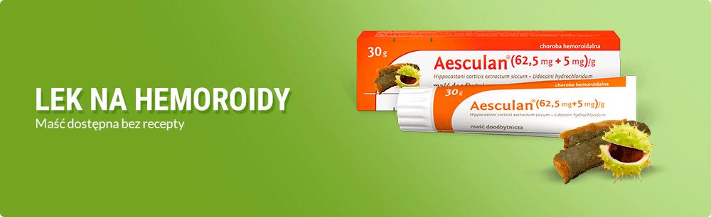Aesculan lek na hemoroidy