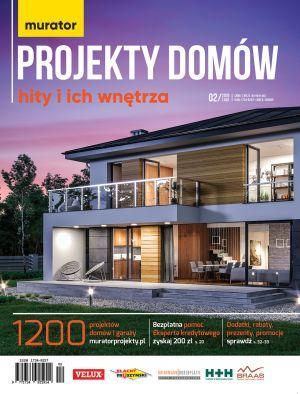 Katalog Murator projekty domów 2/2019 Hity i ich wnętrza DRUK