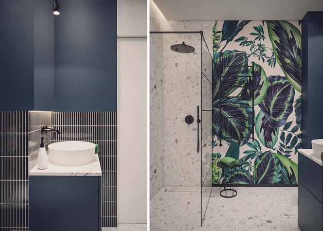 Miejski minimalizm – łazienka w wersji drugiej