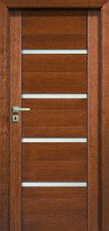 drzwi wewnętrzne<br><b>PASSO</b>,<br>kolor teak zdjęcie